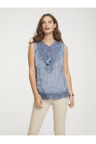 Top heine Casual 62734912 bleu