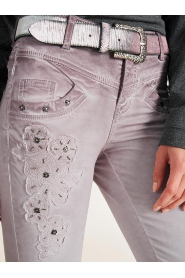 Pantaloni skinny heine CASUAL 57808731 roz
