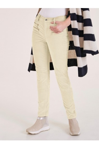Pantaloni drepti heine CASUAL 86666611 alb