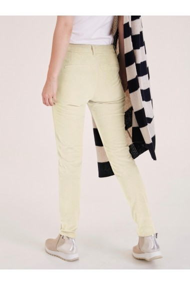 Pantaloni drepti heine CASUAL 87012725 alb