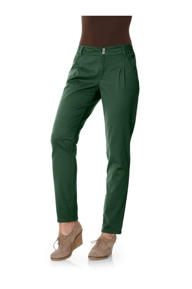 Pantaloni drepti heine CASUAL 024876 verde