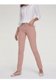 Pantaloni drepti heine CASUAL 32205754 roz - els