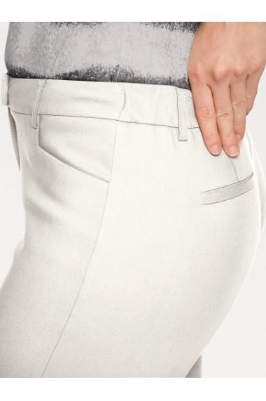 Pantaloni drepti heine TIMELESS 066873 alb