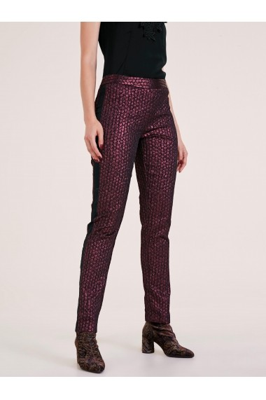 Pantaloni drepti heine TIMELESS 92931006 rosu - els