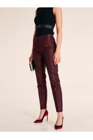 Pantaloni drepti heine TIMELESS 85950044 rosu