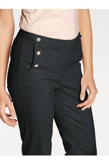 Pantaloni drepti heine TIMELESS 079430 negru