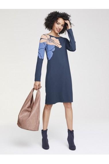 Rochie midi heine CASUAL 89989163 albastru