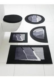 Covoras de baie GRUND 059873 negru 50/90 cm - els