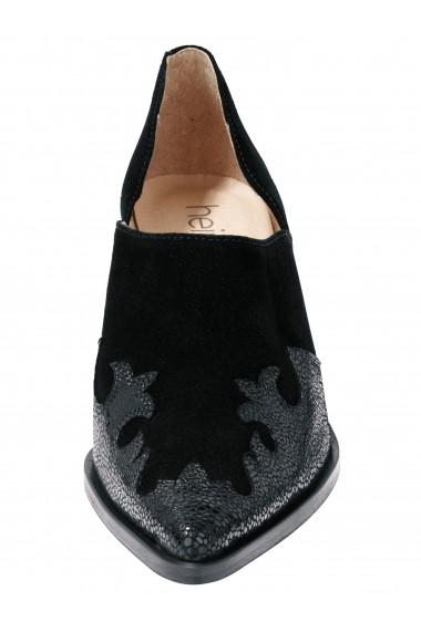 Pantofi cu toc Heine 003565 negru