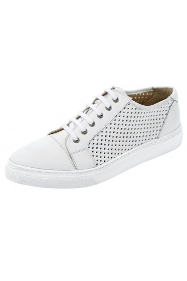 Pantofi sport Heine 125107 alb