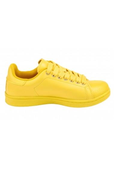 Pantofi sport Heine 099814 galben - els