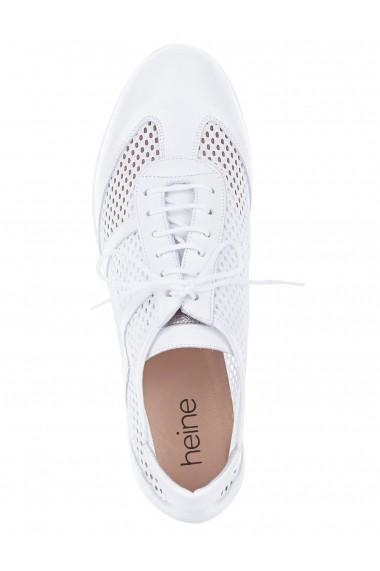 Pantofi Heine 181044 alb