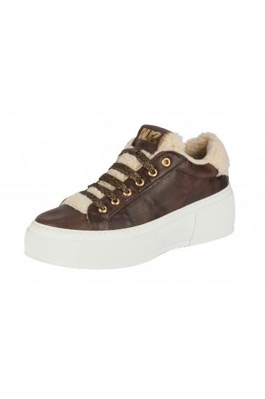 Pantofi sport casual Heine 33230001 maro