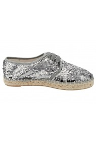 Pantofi Heine 074750 argintiu - els