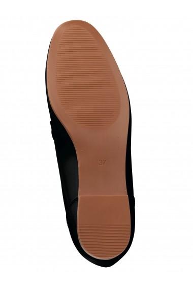 Pantofi Heine 093214 negru - els