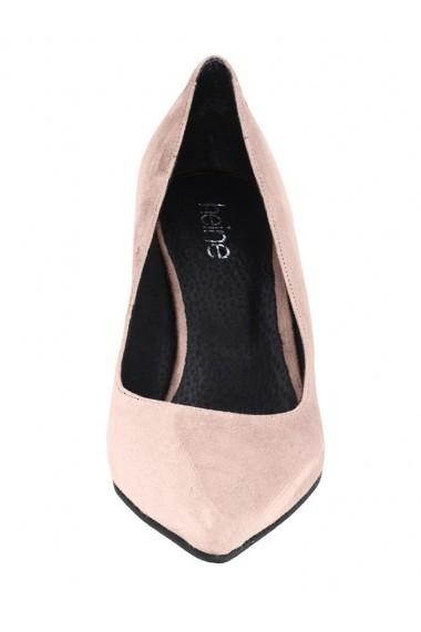 Pantofi cu toc Heine 131385 roz