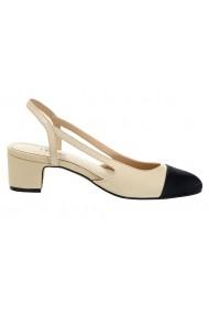 Pantofi cu toc Heine 177953 alb - els