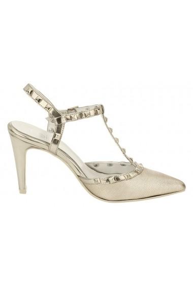 Pantofi cu toc Heine 188294 bej