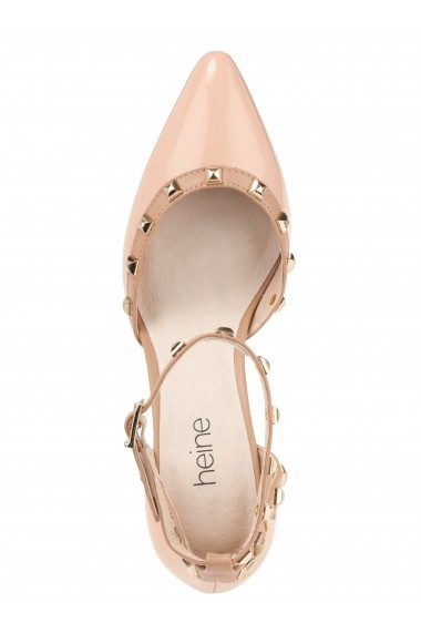 Pantofi Heine 025685 bej
