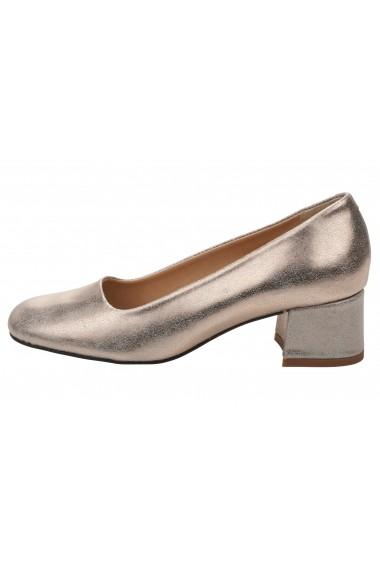 Pantofi Heine 038089 roz - els