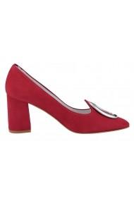 Pantofi Heine 083557 roz - els