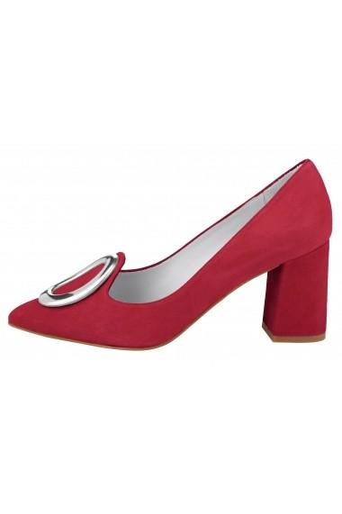 Pantofi Heine 083557 roz