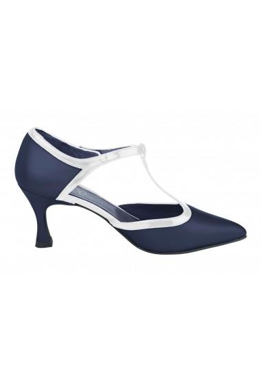 Pantofi Heine 088495 bleumarin