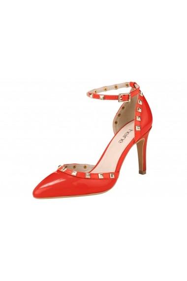 Pantofi Heine 170455 Rosu