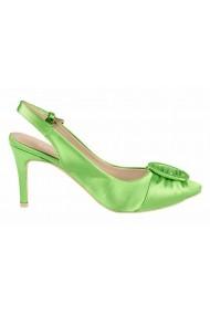 Pantofi cu toc cu toc Heine 15427334 verde