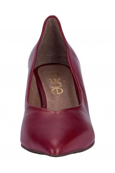 Sandale cu toc Heine 96813412 bordo - els