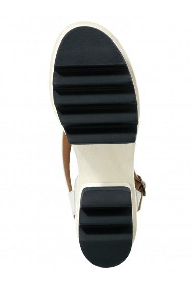 Sandale Heine 002281 alb - els