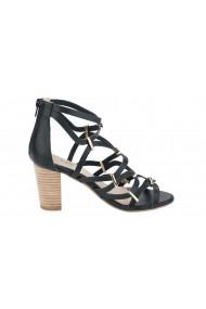 Sandale cu toc Heine 056208 negru - els