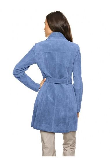 Geaca de piele Heine 168980 albastru - els