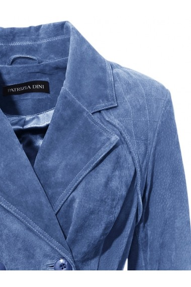 Geaca de piele Heine 168980 albastru