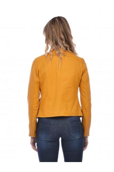 Jacheta din piele L.Y.N.N by Carla Ferreri SS19 LYNN CF 7618L29 Verde
