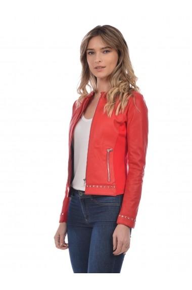 Jacheta din piele L.Y.N.N by Carla Ferreri SS19 LYNN CF 6820L01 Rosu