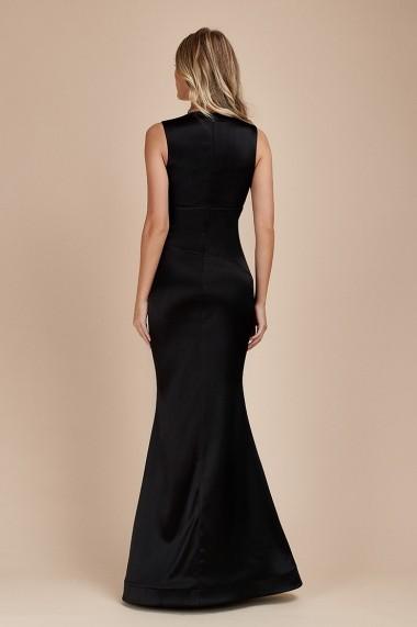 Rochie Eleganta tip Sirena Neagra Sisi