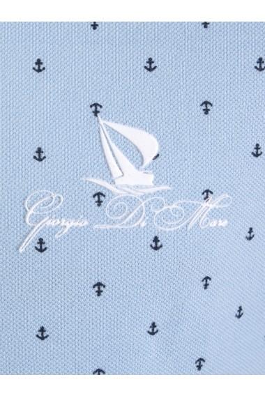 Tricou Polo Giorgio di Mare GI2390741 Albastru