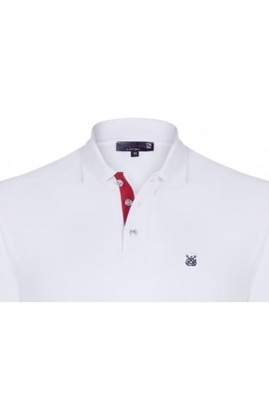 Tricou Polo Giorgio di Mare GI5439961 Alb
