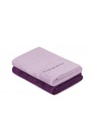 Set 2 prosoape de baie Beverly Hills Polo Club 355BHP2475 violet