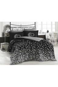 Set lenjerie de pat dublu Hobby 113HBY2587 negru