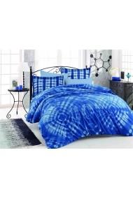 Set lenjerie de pat dublu Hobby 113HBY2830 albastru
