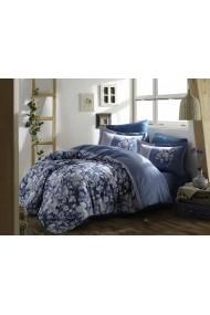 Set lenjerie de pat dublu Hobby 113HBY3612 albastru