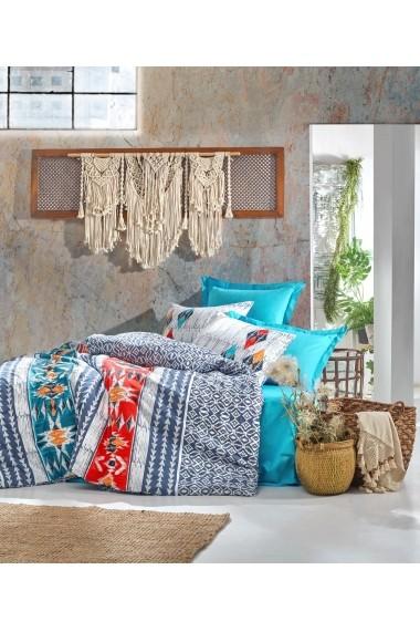 Set lenjerie de pat dublu Cotton Box 129CTN3804 Multicolor