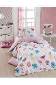 Set lenjerie de pat single Eponj Home 143EPJ1791 Multicolor