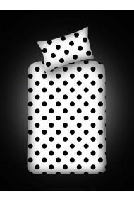 Set lenjerie de pat EnLora Home 162ELR0514 negru