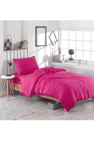 Set lenjerie de pat single EnLora Home 162ELR1312 fuchsia