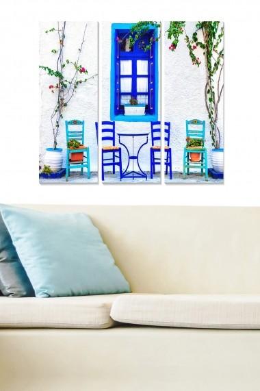 Tablou decorativ (set 3 piese) Bianca 553BNC2954 multicolor