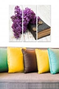 Tablou decorativ (set 3 piese) Bianca 553BNC2970 multicolor
