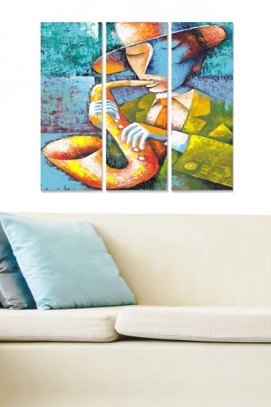 Tablou decorativ (set 3 piese) Bianca 553BNC3101 multicolor